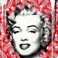 Mr. Brainwash, 'Marilyn Monroe', 2017