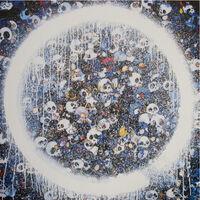 Takashi Murakami, 'ENSO MEMENTO MORI BLUE', 2016