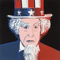 Andy Warhol, 'Myth Portfolio - Uncle Sam', 1981