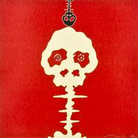 Takashi Murakami, 'Time Bokan (Missing in the eyes - Red)', 2006