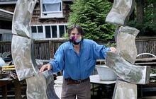 Hans Van de Bovenkamp in a Hamptons Sculpture Tour