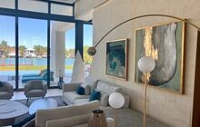 House Installation in collaboration with International Designers by Rita Chraibi and Roche Bobois in Miami