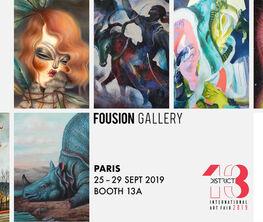 Fousion Gallery at District 13 International Art Fair 2019