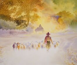 A Resplendent Heritage  – Selected Watercolours by Min Wae Aung