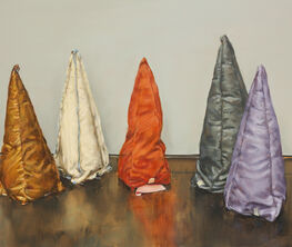 Michaël Borremans - Coloured Cones