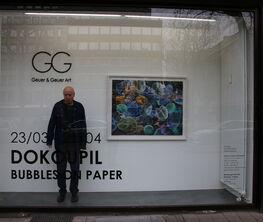 Dokoupil - Bubbles on Paper