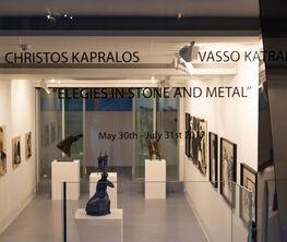 "Christos Kapralos - Vasso Katraki ""Elegies in stone and metal"""