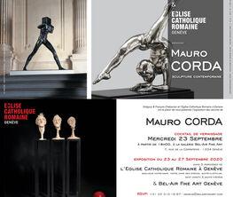 """Bel-Air Fine Art Geneva presents MAURO CORDA """"L'HOMME DEBOUT"""""""