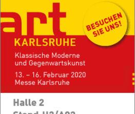 Galerie Barbara von Stechow at art KARLSRUHE 2020
