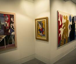 "Alekos Fassianos-Dimitris Mytaras ""Two Pillars of Contemporary Anthropocentric Painting"""