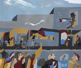 Jacob Lawrence & Gwen Knight: Intersections