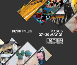 Fousion Gallery at Urvanity Art Fair Madrid 2021