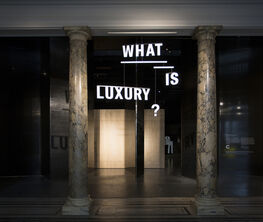 What is Luxury? A V&A and Crafts Council exhibition