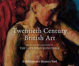 Twentieth Century British Art from the collection of the late John Constable -  A collaboration with Harry Moore Gwyn Fine Art