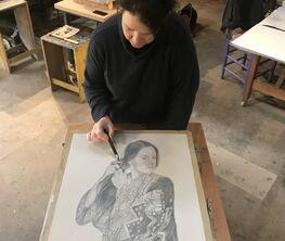 Hanneke Benade - lithographs and Pastels