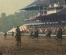 Annual Saratoga Exhibition at Fasig-Tipton feat. Special Peter Howell Exhibition