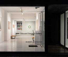 Robert Mangold : Works on paper