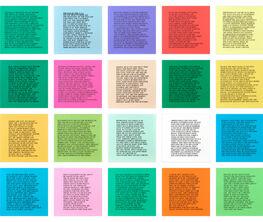 Jenny Holzer: Text Works
