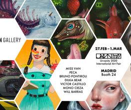 Fousion Gallery at Urvanity Art Fair Madrid 2020