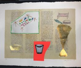 Selection of Biggest works on paper by Mimmo Paladino