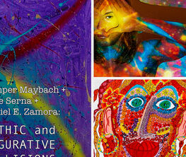 Mythic and Figurative Collisions: The Art of Jumper Maybach, Pepe Serna, and Daniel E. Zamora