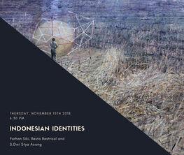 Indonesian Identities