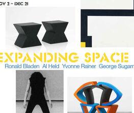 Expanding Space: Ronald Bladen, Al Held, Yvonne Rainer and George Sugarman