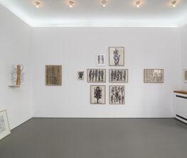 Ursula Sax – aus und auf Papier / from and on paper