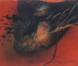 Otto Piene. Le rouge et le feu