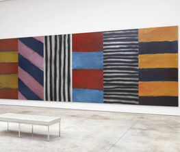 Sean Scully: Wall of Light Cubed