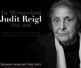 In memoriam Judit Reigl (1923-2020)