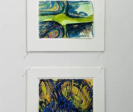 """Phoebe Adams """"Early Watercolor Paintings, 1999- 2000"""""""