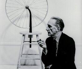 Julian Wasser : Duchamp in Pasadena Redux