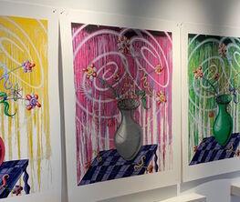 Kenny Scharf: Flores