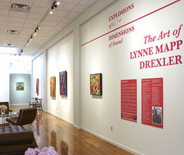 Explosions of Color | Dimensions of Sound - The Art of LYNNE MAPP DREXLER
