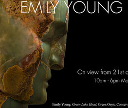 Emily Young at Bowman Sculpture