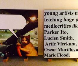 Mark Flood: The INSIDER ART FAIR 2014