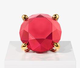 Jeff Koons: Diamond (Red), 2020