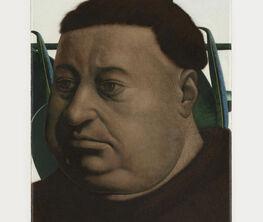 OLIVER OSBORNE   PORTRAIT OF A FAT MAN