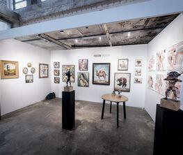 Fousion at Moniker Art Fair 2018