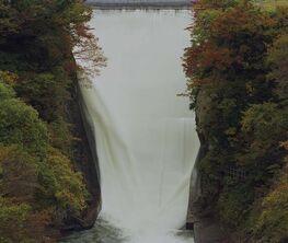 Painting/Falling Water - Toshio Shibata