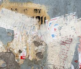 """Yasuo Kiyonaga """"Wall in the city"""""""