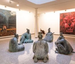 Liu Ruowang Paintings and Sculptures 2007 - 2017