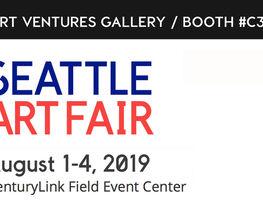 Art Ventures Gallery at Seattle Art Fair 2019