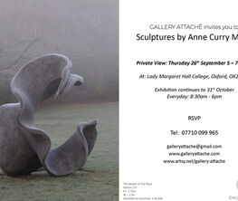 Sculptures by Anne Curry MRSS 'Capturing nature's energy'