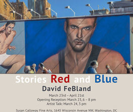 David FeBland: Stories Red and Blue