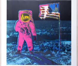 Andy Warhol: Moonwalk, Cowboys and Indians, Mick Jagger and Muhammad Ali