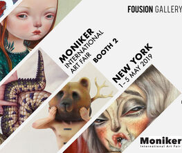 Fousion Gallery at Moniker Art Fair 2019