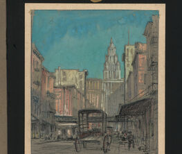 Jules André Smith: Sketches of New York