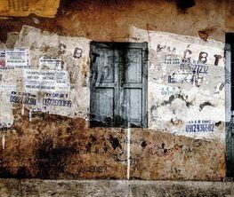 "Yasuo Kiyonaga's Photo exhibition ""Wall in the city"""